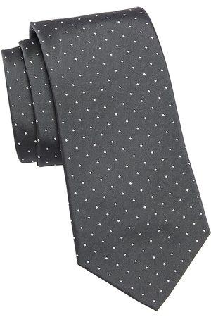 Ralph Lauren Men's Pin Dot Silk Tie