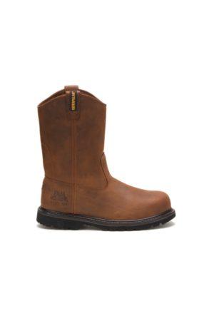 Caterpillar Boots - Edgework Steel Toe Work Boot Mahogany, Size 8M