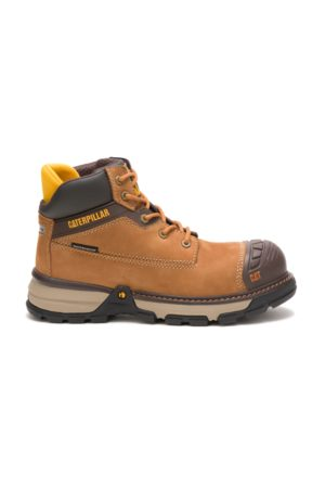 Caterpillar Excavator Superlite Waterproof Nano Toe Work Boot Sudan , Size 5.5M