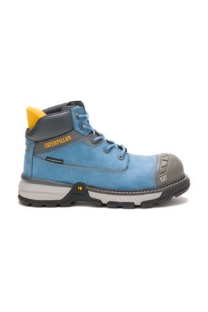 Caterpillar Excavator Superlite Waterproof Nano Toe Work Boot Heaven, Size 6.5M