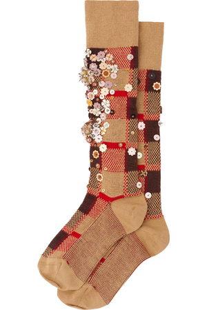 Miu Miu Sequin-embellished wool socks