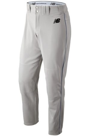 New Balance Men's Adversary 2 Baseball Piped Pant Athletic - Grey/Navy (BMP216GNV)