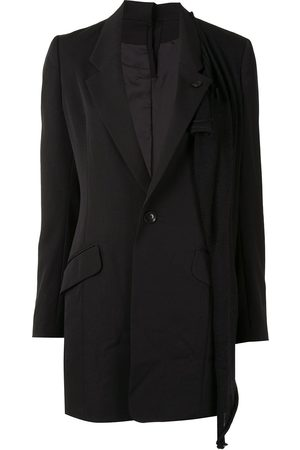 Y'S Single-breasted layered blazer