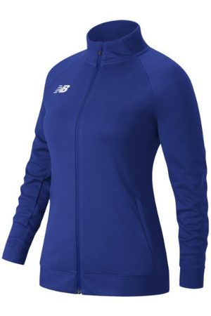 New Balance Women's Knit Training Jacket - Blue (TMWJ720TRY)
