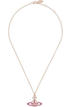 Vivienne Westwood Embellished Orb necklace - Metallic
