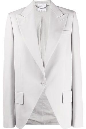 Stella McCartney Peak-lapel single-breasted blazer - Grey