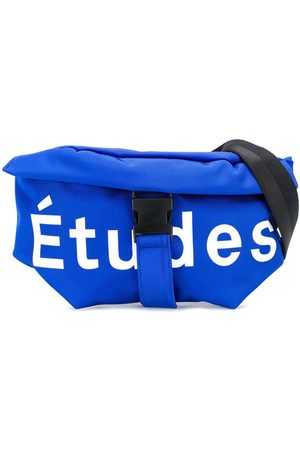 Etudes Logo print belt bag