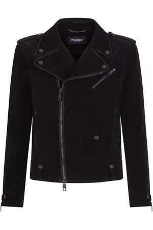 Dolce & Gabbana Corduroy biker jacket