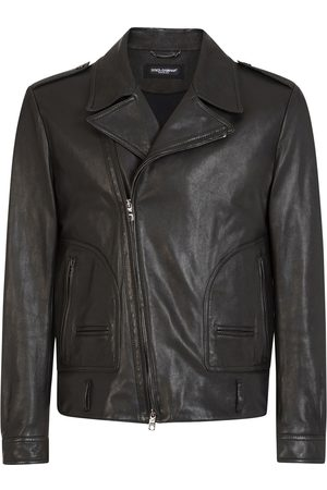 Dolce & Gabbana Leather biker jacket