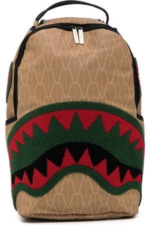 Sprayground Spucci Gang logo backpack - Neutrals