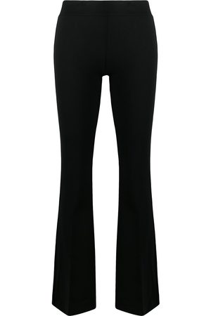 BLANCA Flared slim-fit trousers
