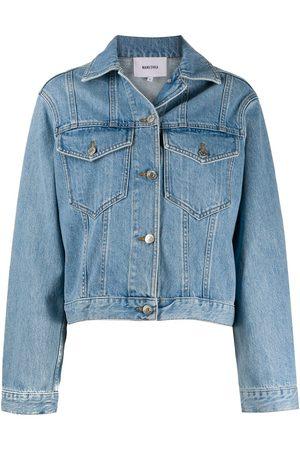 Nanushka Maren denim jacket