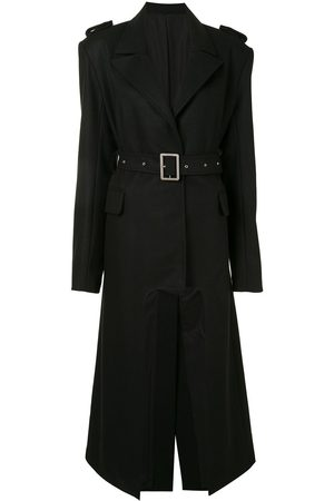Boyarovskaya Cut-out oversized trench coat