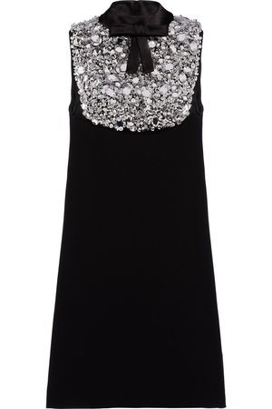 Prada Women Party Dresses - Embellished bow-detail A-line dress