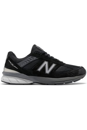 New Balance Men's Made in US 990v5 - Black/Silver (M990BK5)