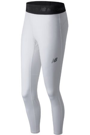 New Balance Women's NB Performance Tech Tight - White (TMWP701WT)