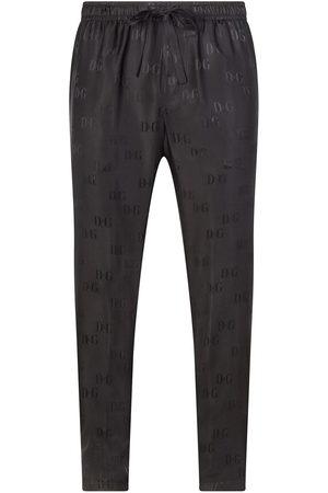 Dolce & Gabbana Logo-jacquard drawstring track pants