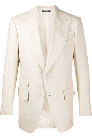 Tom Ford Peak-lapel blazer - Neutrals