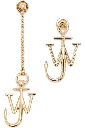 J.W.Anderson Asymmetric anchor earrings