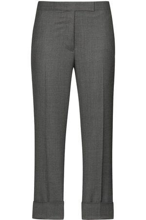 Thom Browne Cropped slim leg trousers - Grey
