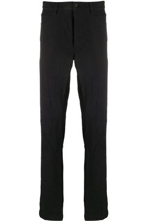 FORME D'EXPRESSION Men Formal Pants - High-rise tailored trousers