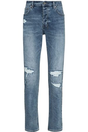 KSUBI Chitch Runway distressed slim-fit jeans