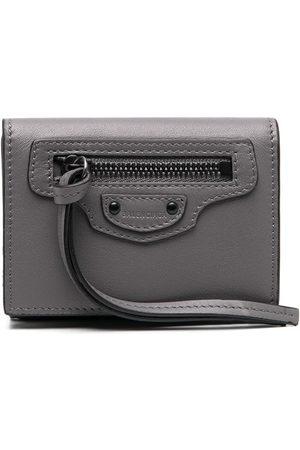 Balenciaga Neo Classic mini wallet - Grey