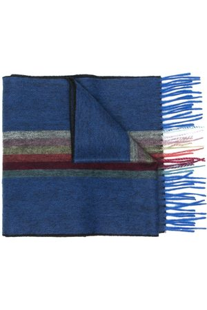 Paul Smith Men Scarves - Striped fringe scarf