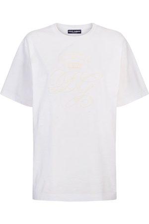 Dolce & Gabbana Embroidered-logo short-sleeve T-shirt