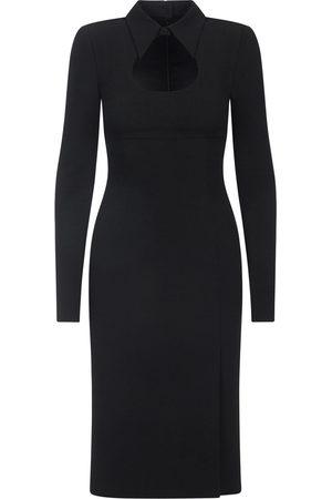 Dolce & Gabbana Collared calf-length dress