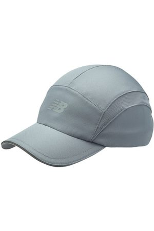 New Balance Unisex 5 Panel Performance Hat - Grey (LAH91003GNM)