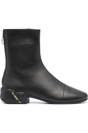 RAF SIMONS Rubber sole zip-up boots