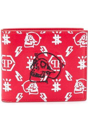 Philipp Plein Skull monogram print wallet