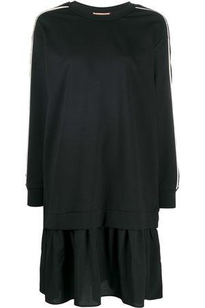 Twin-Set Sequin embroidered sweatshirt dress