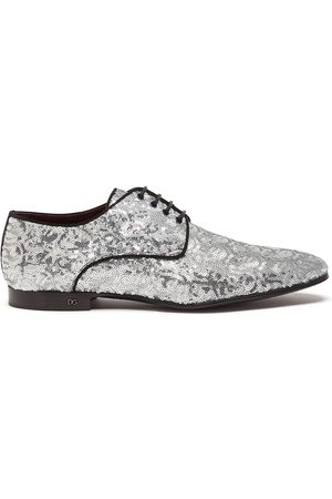 Dolce & Gabbana Sequin-embellished Derby shoes