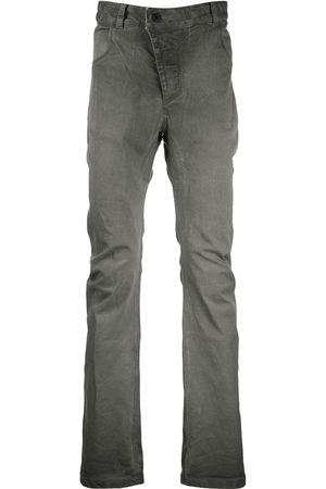 11 BY BORIS BIDJAN SABERI Grey wash bootcut jeans