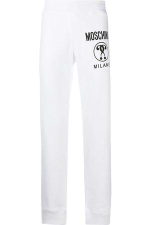 Moschino Men Sweatpants - Logo-print track pants