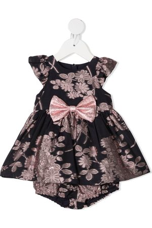 HUCKLEBONES LONDON Floral-embroidered party dress
