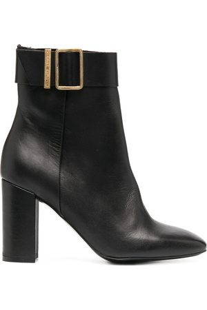 Tommy Hilfiger Buckle-cuff ankle boots