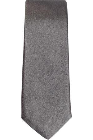 Dolce & Gabbana Men Bow Ties - Silk blade tie - Grey