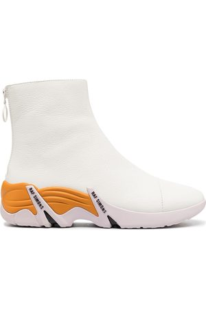 RAF SIMONS Cylon zip-up ankle boots