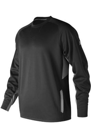 New Balance Men's Baseball Pullover 2.0 - Black (MT73707TBK)