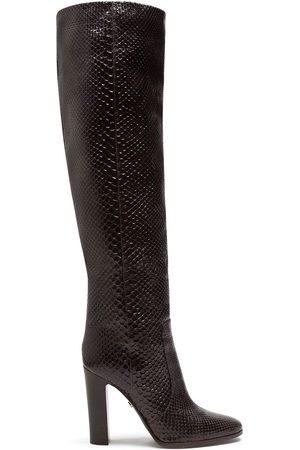 Dolce & Gabbana Block-heel knee boots