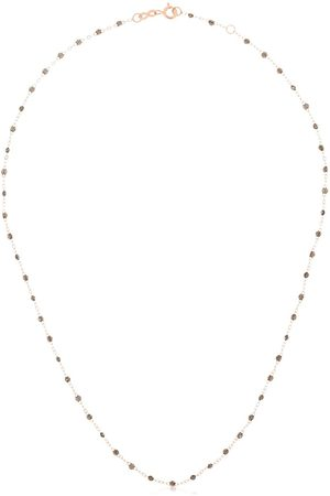 GIGI CLOZEAU 18K rose Classic Gigi beaded necklace