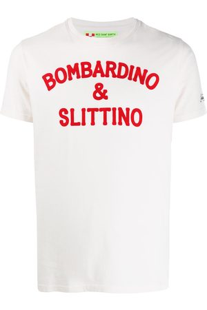 MC2 SAINT BARTH Slogan t-shirt