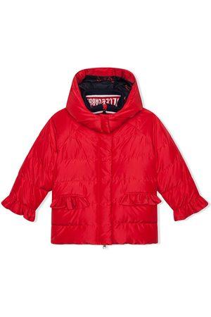 Dolce & Gabbana Ruffle-trim padded coat