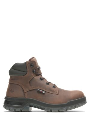 """Wolverine Boots - Ramparts CARBONMAX 6"""" Boot Dark , Size 9 Extra Wide Width"""