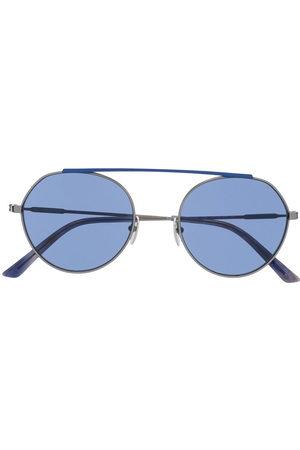 Calvin Klein Round - Two tone round frame sunglasses