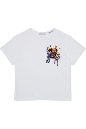Dolce & Gabbana Embroidered cotton T-shirt