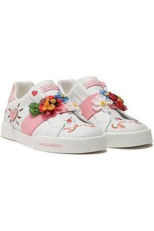 Dolce & Gabbana Floral-motif sneakers